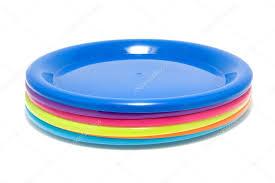 colorful plastic plates stock photo sannie32 2925635