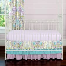 Teal And Purple Crib Bedding Turquoise And Purple Crib Bedding Home Design Ideas