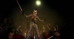 clown stilts for sale horror clowns party scary clown on stilts stock