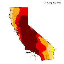 california drought map january 2016 this is the best looking drought map we ve seen in years curbed la