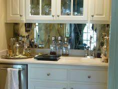 mirror backsplash kitchen pattern antiqued mirrored backsplash tiles kitchens
