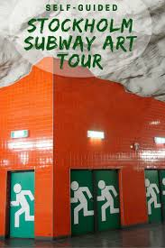 Stockholm Metro Map by Self Guided Stockholm Subway Art Tour Savored Journeys