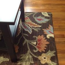 Pier 1 Area Rugs Pier 1 Brown Raised Floral Rug My Dream House U0026 The Suff In It