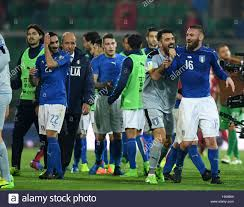 palermo italy 24th mar 2017 italy s players celebrate after