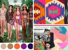 print pattern trend inspiration textile colours moodboard style