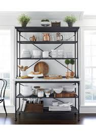 kitchen rack ideas amazing of kitchen bakers rack with storage 25 best bakers rack