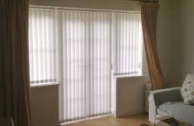 Linen Vertical Blinds Interior Simple Black Linen Tieback Curtain Mixed With White