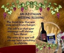 wedding blessing an italian wedding blessing italian humor