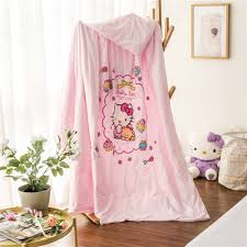 Hello Kitty Bedroom Set Twin Popular Comforter Polyester Buy Cheap Comforter Polyester Lots