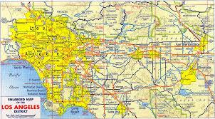 Map Of La County Restaurants Reviewed By Neighborhood Consuming La