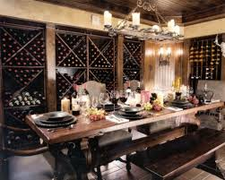 wine cellar dining room glass wine room in the dining room 4