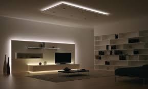 eclairage plafond cuisine led éclairage led salon 30 idées ultra modernes à essayer design