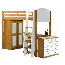 lit bureau armoire combiné combine lit bureau junior mezzanine milo cm avec armoire et