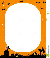 free halloween borders halloween frame stock images image 22691474