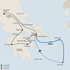 Greece Map Europe by Globus Escorted Tours U0026 Guided Vacations
