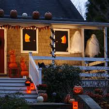 Halloween Home Decor Pictures by Homemade Halloween Decorations Allyou Com