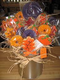 cookie creations fall cookie bouquet