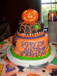 Chocolate Halloween Cake by Halloween Birthday Cake Cakecentral Com