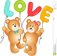 balloons and teddy bears of teddy holding balloon illustration