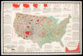 map usa indian reservations americans