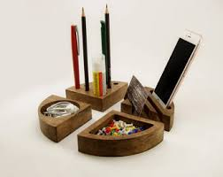 Desk Tidy Set Desk Tidy Etsy