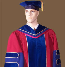 doctoral graduation gown custom academic regalia phd gowns hoods and tams