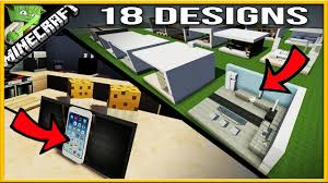 Kitchen Ideas For Minecraft 18 Minecraft Modern Kitchen Designs Youtube