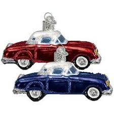 barcana shatter proof luxury car christmas tree ornament how cute