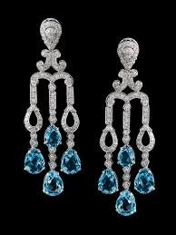 White Chandelier Earrings Valobra Earrings New Orleans Houston Fine Jewelry Heirloom