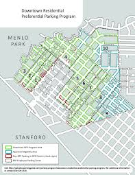 Is Time Zone Map by Downtown Residential Parking City Of Palo Alto Parking