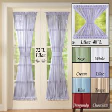 Door Panel Curtains Sheer Door Panel Curtains From Collections Etc
