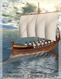 ancient greece boats trireme boat image ancient greek boats