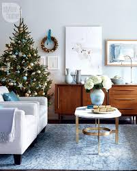 Blue Christmas Decorations Photos by