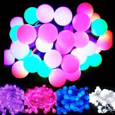 aliexpress buy multi color 20m 200 matte balls led light