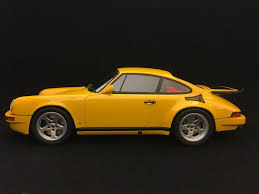 porsche ruf yellowbird porsche 911 type 964 ruf ctr yellow bird yellow 1 18 gt spirit
