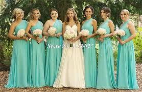 mint green bridesmaid dresses mint green bridesmaid dresses cheap one shoulder pleats