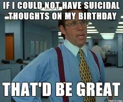Ptsd Meme - irritated my own birthday triggers ptsd symptoms meme on imgur