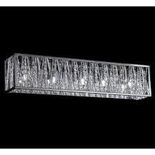 terra chrome five light vanity fixture overstock shopping top