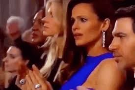 Clapping Meme - plz enjoy jennifer garner embracing the jennifer garner oscars meme