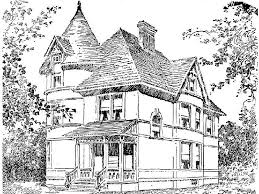 casa disegno disegni da colorare per adulti foto tempo libero pourfemme