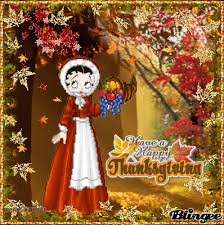 thanksgiving betty boop betty boop special day images