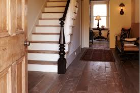 reclaimed and custom hardwood flooring installation in