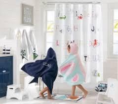 Girls In Bathroom With Boys Girls U0026 Boys Bath Towels U0026 Accessories Pottery Barn Kids