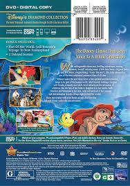 amazon com the little mermaid diamond edition dvd digital