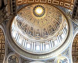 alla cupola di san pietro visitare a roma la cupola della basilica di san pietro