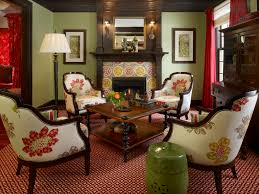 Green Livingroom Cool 70 Chocolate Brown Color Scheme Living Room Decorating
