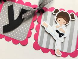 Personalized Party Decorations 7 Best Karate Birthday Party Images On Pinterest Karate Birthday