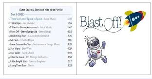 blastoff ideas for an outer space kids yoga class free lesson
