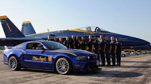 Black 2009 Mustang Gt Us Navy Blue Angels F A 18 Hornet U0026 Ford Mustang Gt Blue Angels