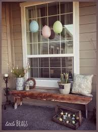 Easter Decorations For House by 23 Best Easter Porch Decor Ideas And Designs For 2017